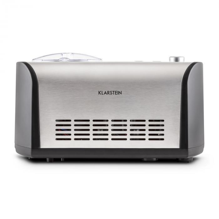 Snowberry & Choc Eismaschine 1,2l Kühlhaltefunktion Edelstahl-Look