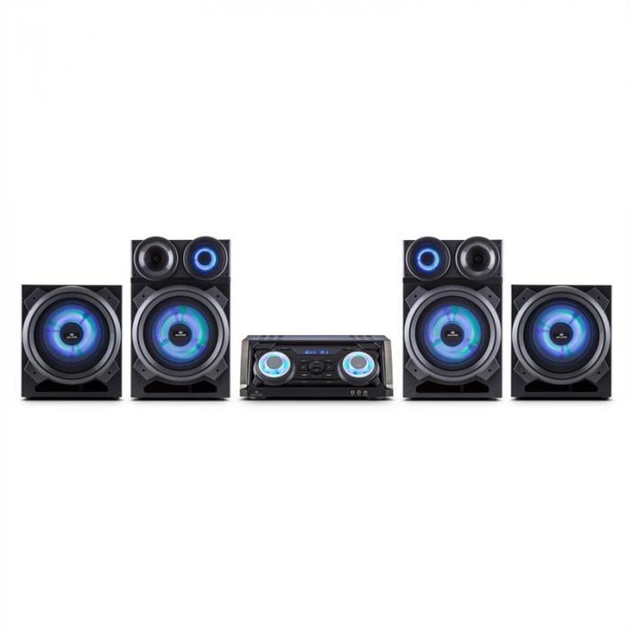 Mega Party Sistema Audio 720W Bluetooth DVD HDMI
