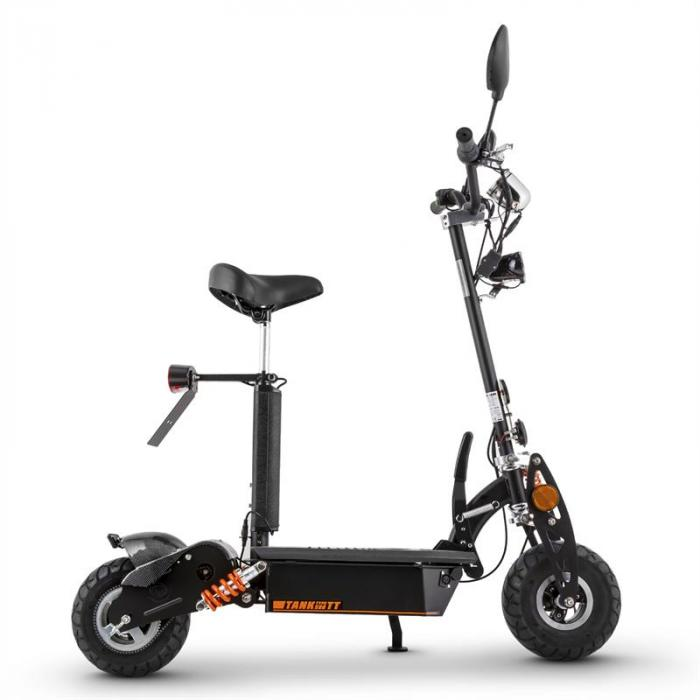 elektronik star de tank type 500tt elektro scooter 36v 500w 20 km h 25 km stvzo orange. Black Bedroom Furniture Sets. Home Design Ideas
