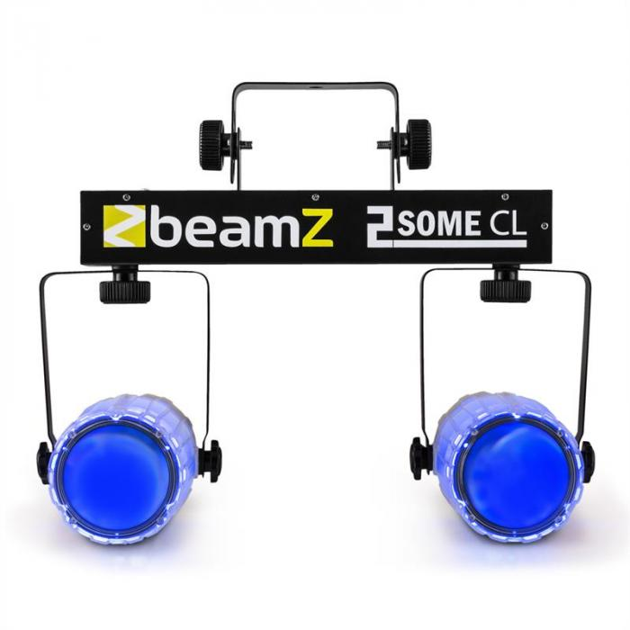 2 Some Clear Set Luci RGBAW-LED Microfono