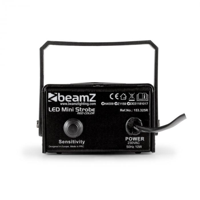 Mini Set Stroboscopio a LED RGNW 4 Pezzi