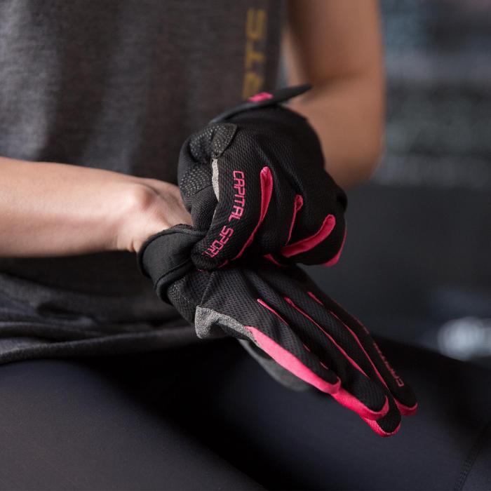 Nice Touch PL rękawice sportowe rękawice treningowe L imiacja skóry