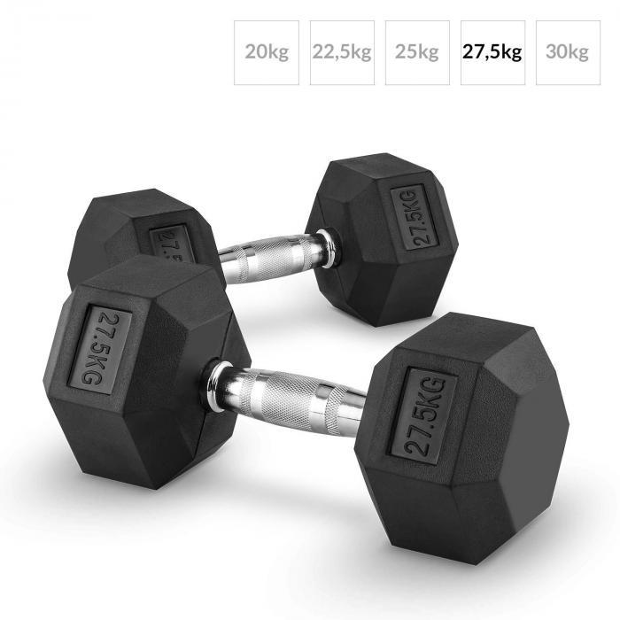 Hexbell Dumbbell korthantel par 27,5kg