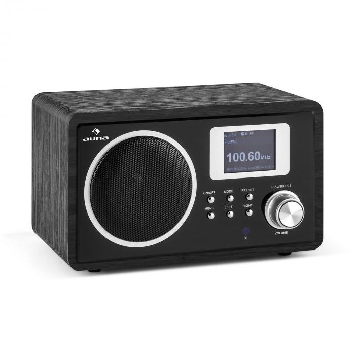 ir 150 internet radio ukw dlna wlan retro fernbedienung holzgeh use online kaufen elektronik. Black Bedroom Furniture Sets. Home Design Ideas