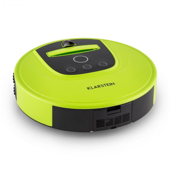 Cleanhero Saugroboter Staubsauger Automatik Fernbedienung grün