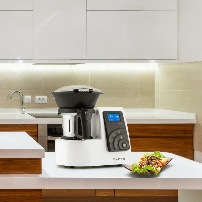 Kitchen Hero 9-in-1 -keittiömonitoimikone Thermo 2l 600/1300w valkoinen