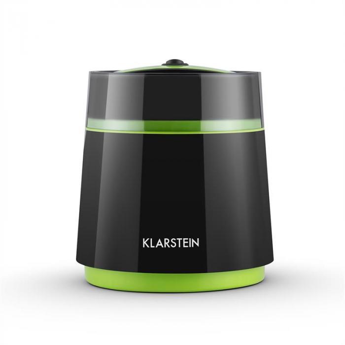 Bacio Nero Eiscrememaschine 0,8 Liter schwarz-grün