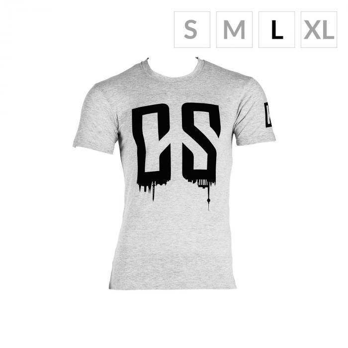 Beforce Training T-Shirt per Uomo Size L Grigio Melange