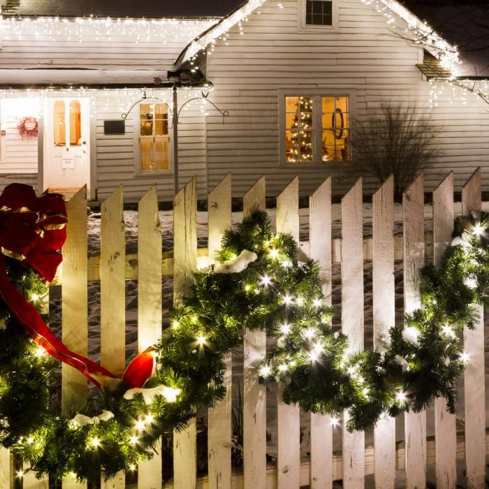 Forsthaus Ghirlanda Natalizia 12 m 180 LED Bianca