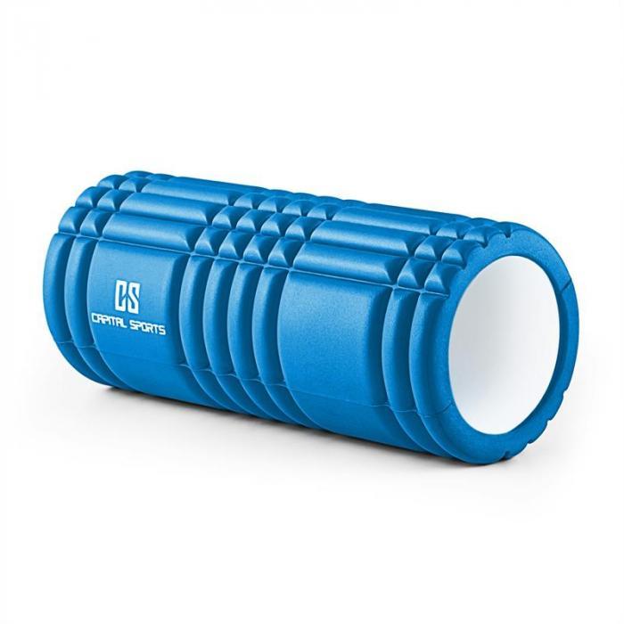 Caprole 1 Massageroller 6 Stück 33 x 14 cm blau