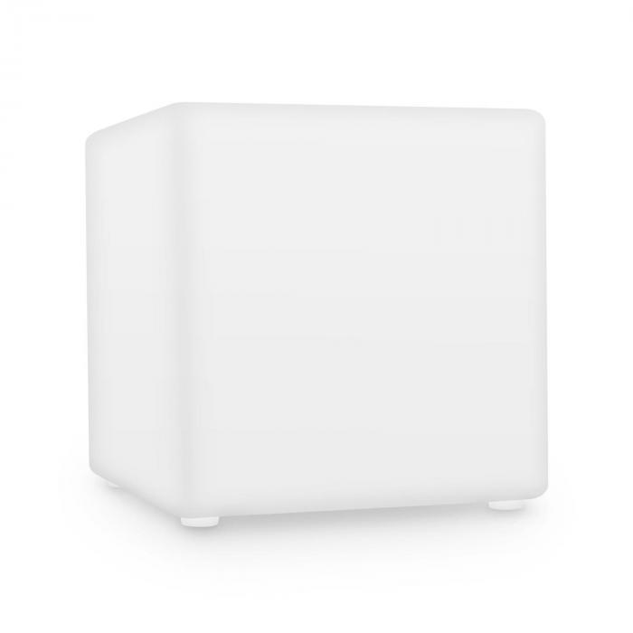 Shinecube Cubo LED Sgabello Luminoso Telecomando