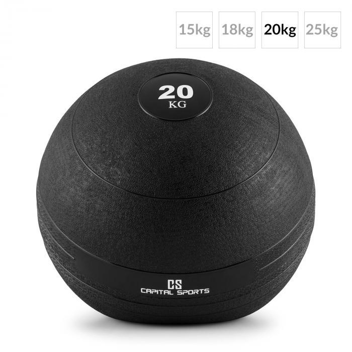 Groundcracker Slamball musta kumia 20 kg