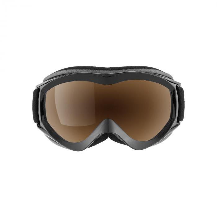 Snow View laskettelulasit Mirror Coating musta