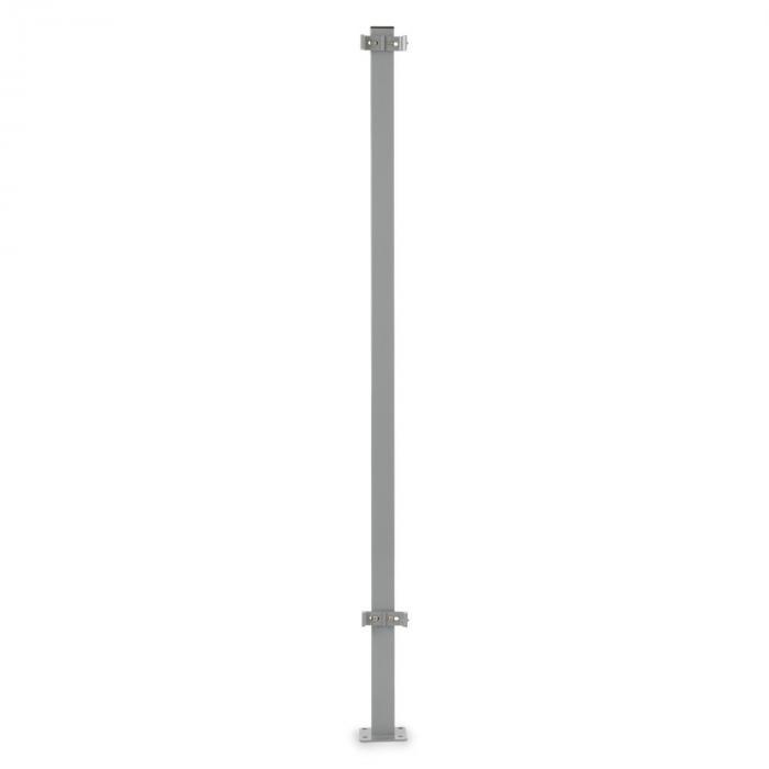 Torre di Bari päätytanko Bari sivumarkiisille 1,5 m alumiinia