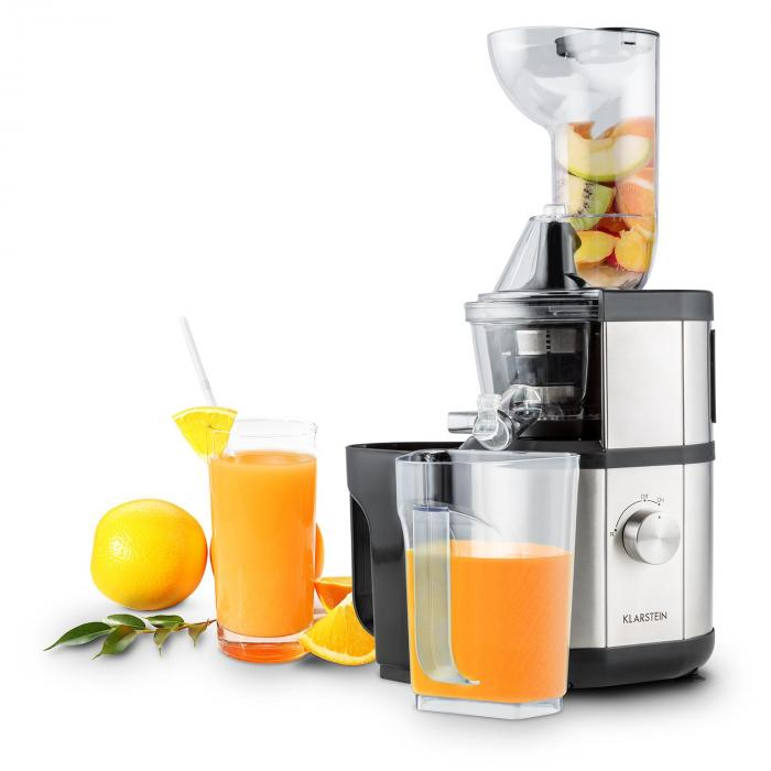 Fruitberry Slow Juicer 400W 60U/min Einfullrohr o8,5cm ...