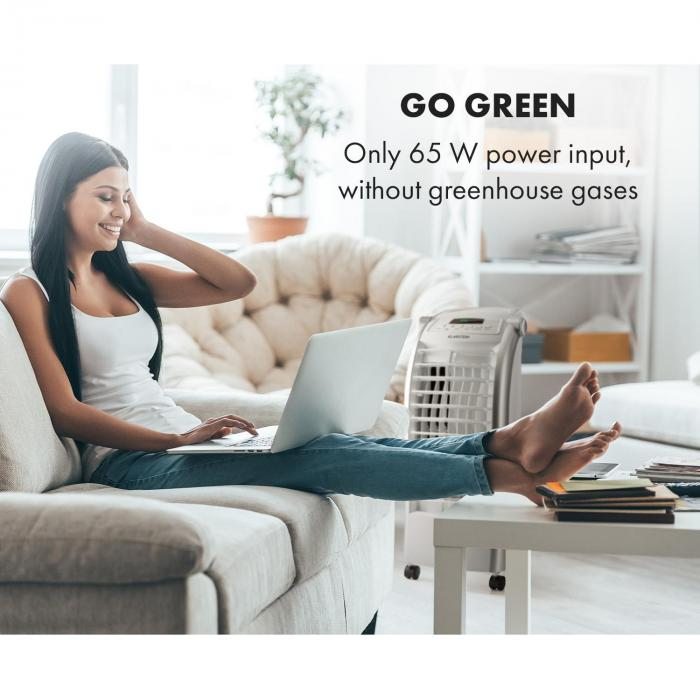 Maxfresh WH Fan Air Cooler 6L 65W Remote Control Ice Pack