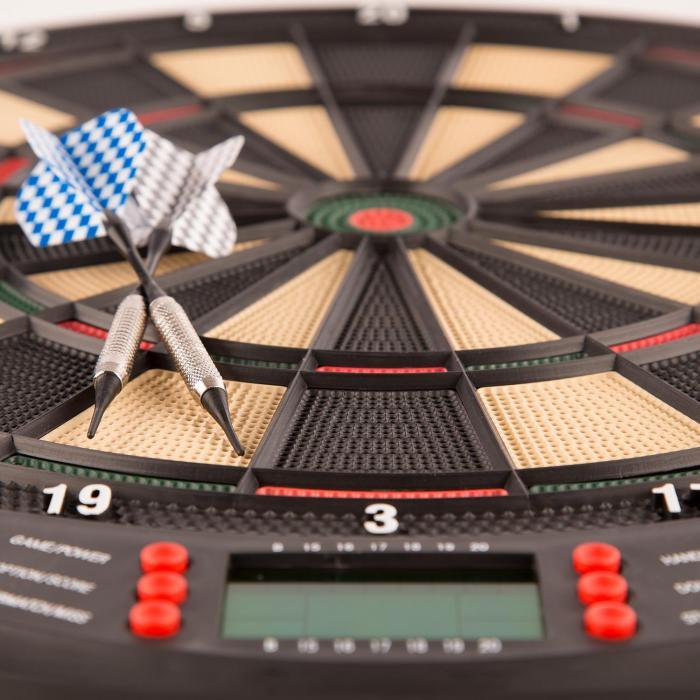 Dartomat Electronic Dartboard Soft Tip 26 Games Sound