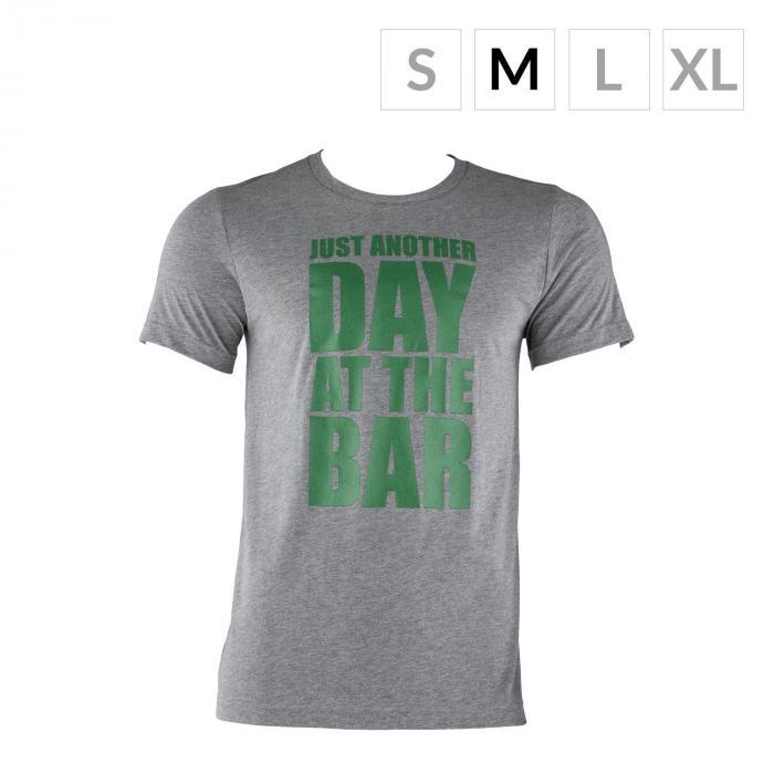 Trainings-T-Shirt für Männer Size M Grau meliert