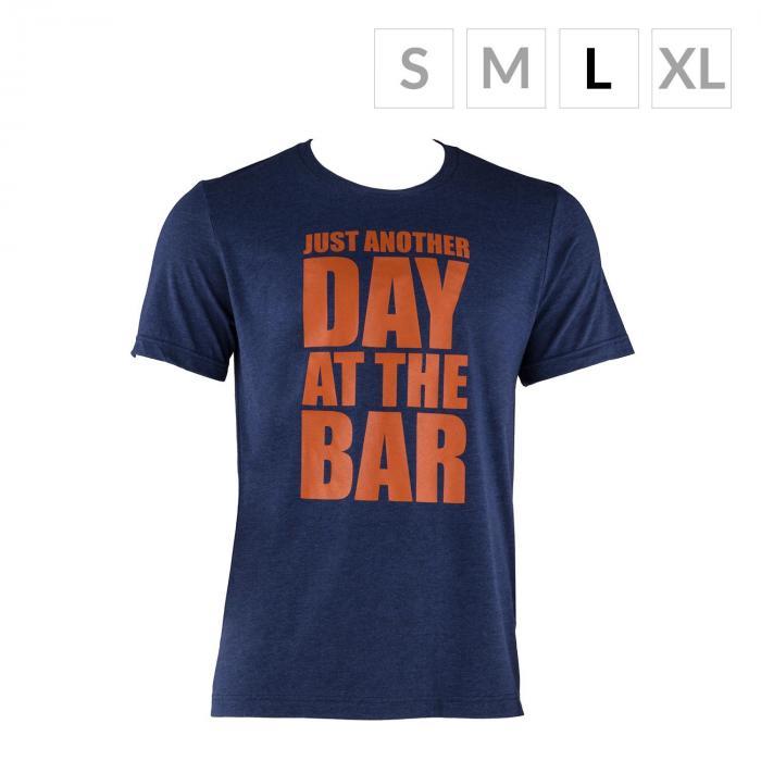 Treenipaita T-paita miehille koko L laivastonsininen