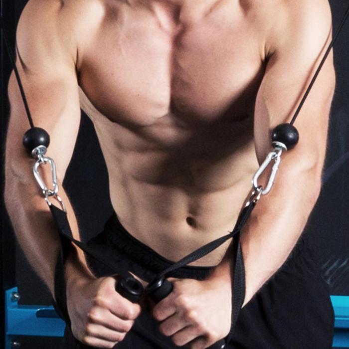 Tremendi Rack Kabelzug Klimmzugstange Safety Spotter