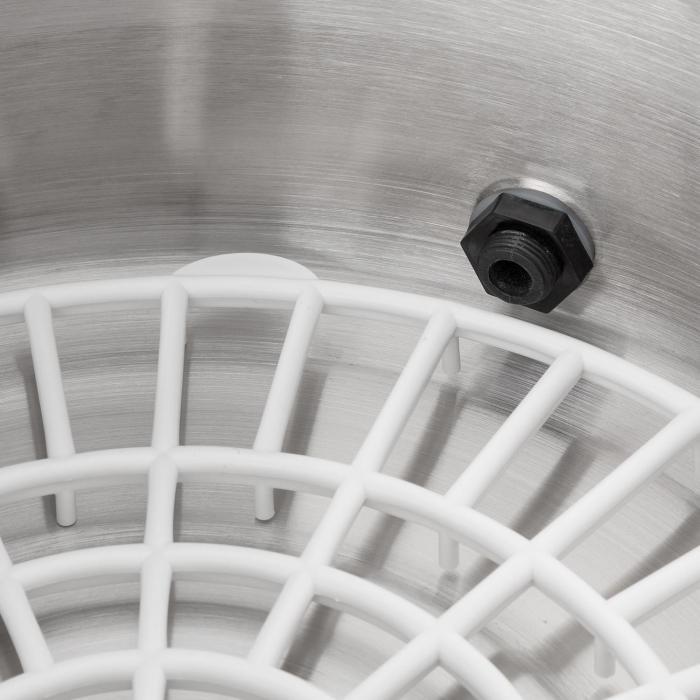 Biggie Small Pentola per conserve completamente automatica Pentola per conserve 16 litri 2000W Acciaio inox