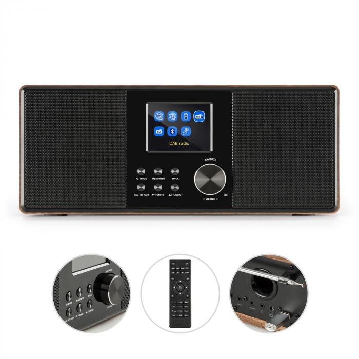 Connect 120 internetradio mediasoitin bluetooth WLAN DAB/DAB+ FM USB