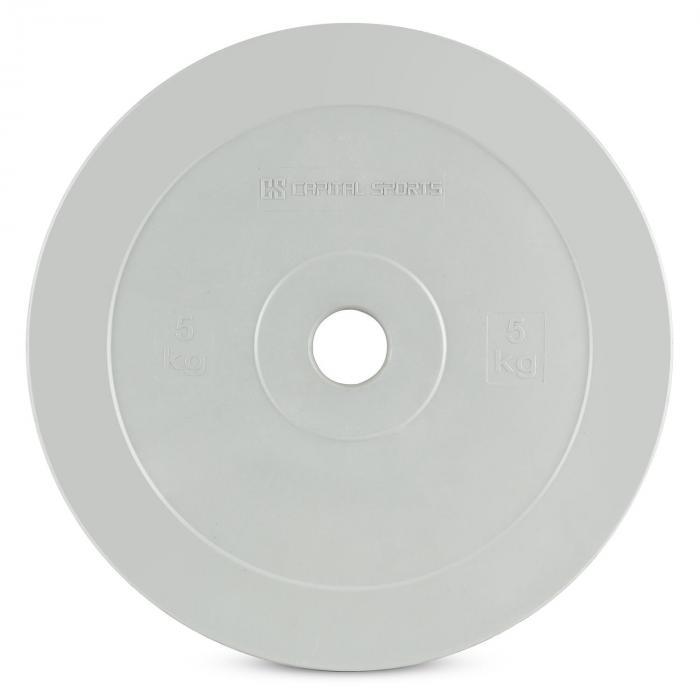 Methoder tekniikkalevy levypaino kumi pari 5 kg harmaa