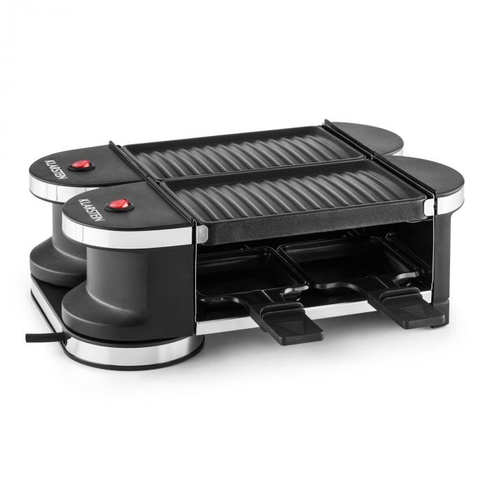 tenderloin mini raclette grill 600w 360 basis 2 grillplatten grillplatte 4 raclette pf nnchen. Black Bedroom Furniture Sets. Home Design Ideas