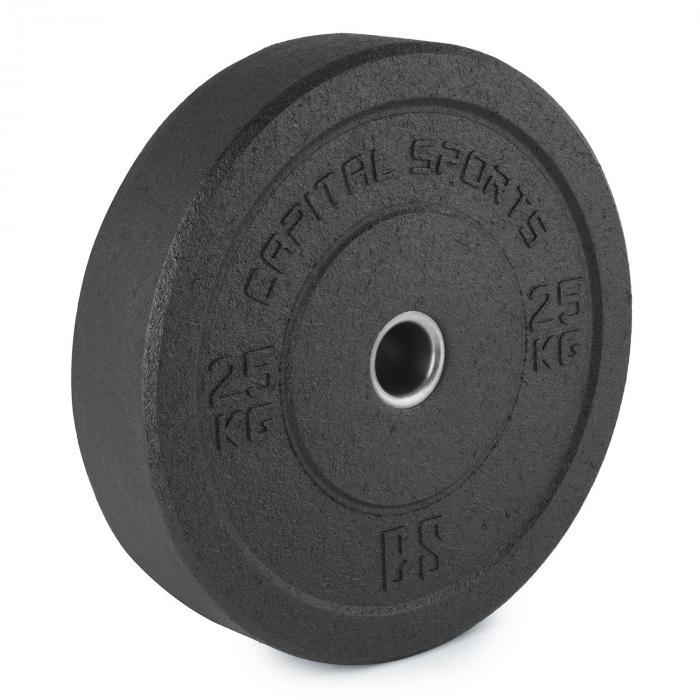 Renit Hi Temp Bumper Plates 50,4 mm Aluminiumkern Gummi 2x25kg