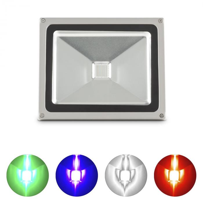 Fabulux 30 W LED-RGB valonheitin alumiinia 30 wattia IP65