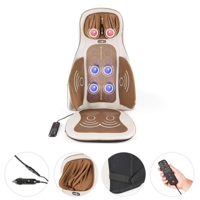 Vanuato Massage Cushion Shiatsu Massage 3D Massage Beige