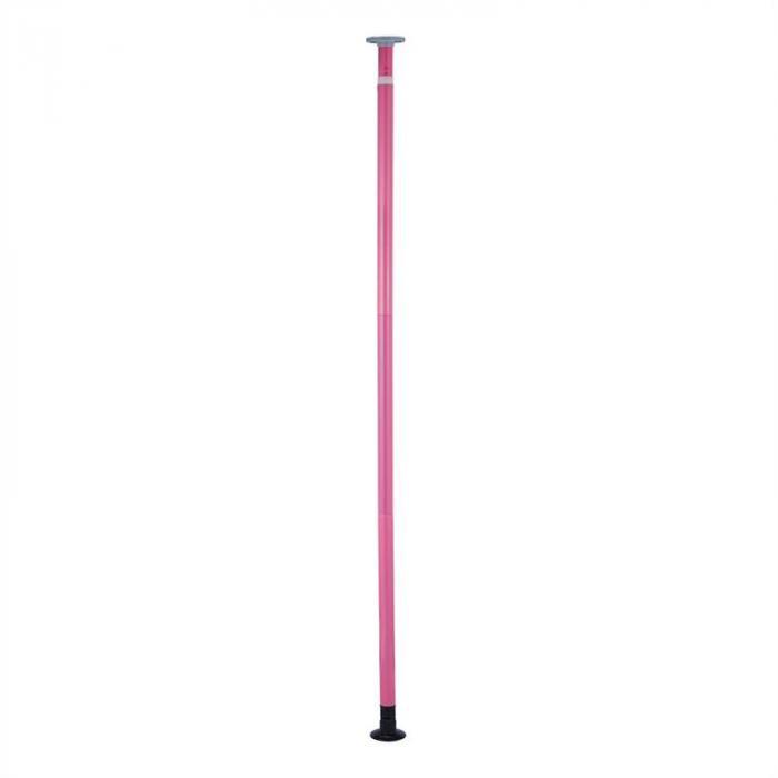 Flamingo Kit Pole Dance Ø 5cm 2,20m - 2,60m Acciaio Inox Rosa