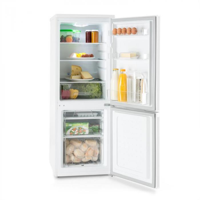 Bigpack Frigorifero Combinato Frigo Congelatore 160 Litri Classe A++ Bianco