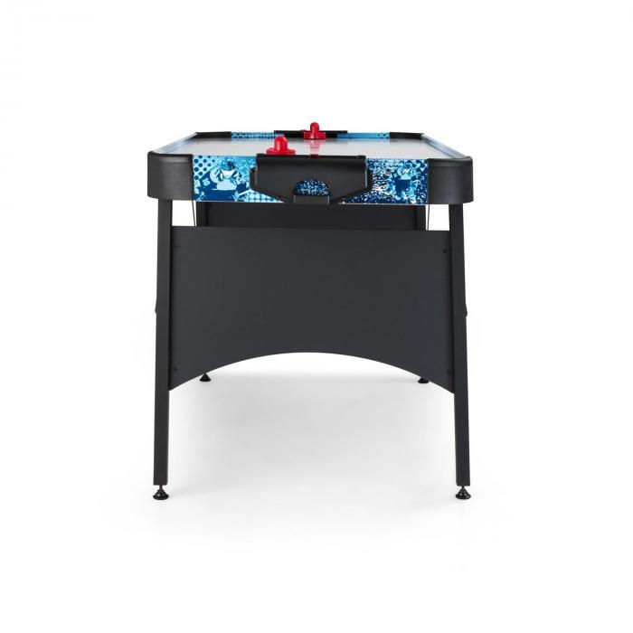 "Polar Combat airhockeytafel 6"" 76x82x161 cm (BxHxD) - zwart"