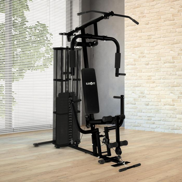Ultimate Gym 3000 Stazione Fitness Nero
