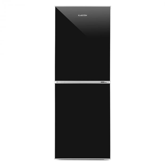 elektronik star at luminance frost k hl gefrierkombination 98 52 l a glasfront schwarz. Black Bedroom Furniture Sets. Home Design Ideas