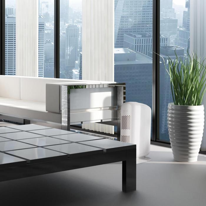 Davos 5 in 1 Luftreiniger Ionisator 101 m³/h schwarz/weiß