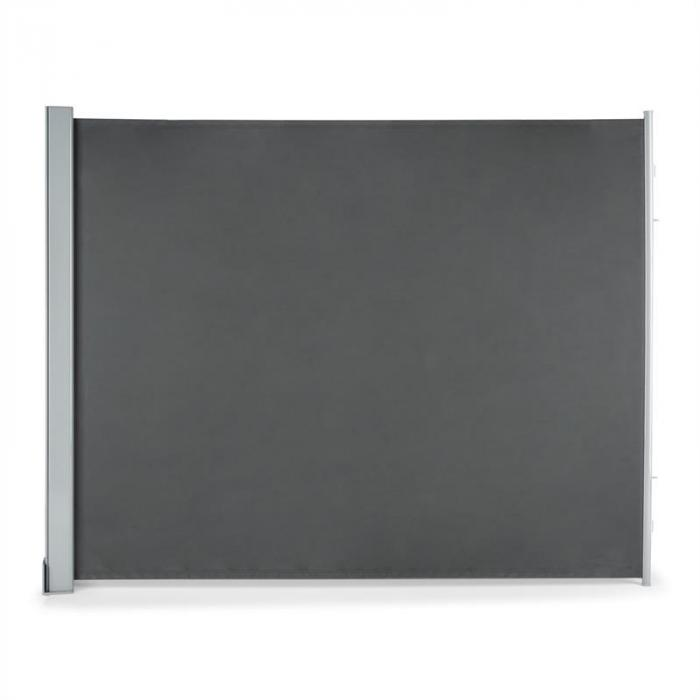 cosmo auvent pare vue pour balcon pare soleil 150x200cm anthracite electronic star fr. Black Bedroom Furniture Sets. Home Design Ideas