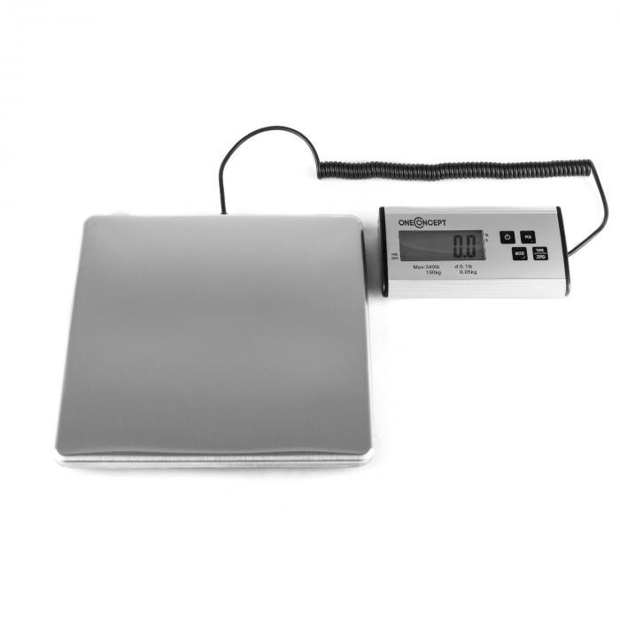 Marketeer digitaalinen pakettivaaka 150kg/50g 27x27cm