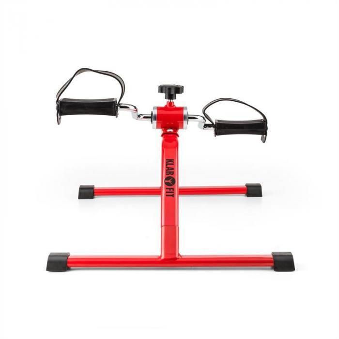 Continus minikuntopyörä käsi- ja jalkapolkimet manuaalinen vastus punainen