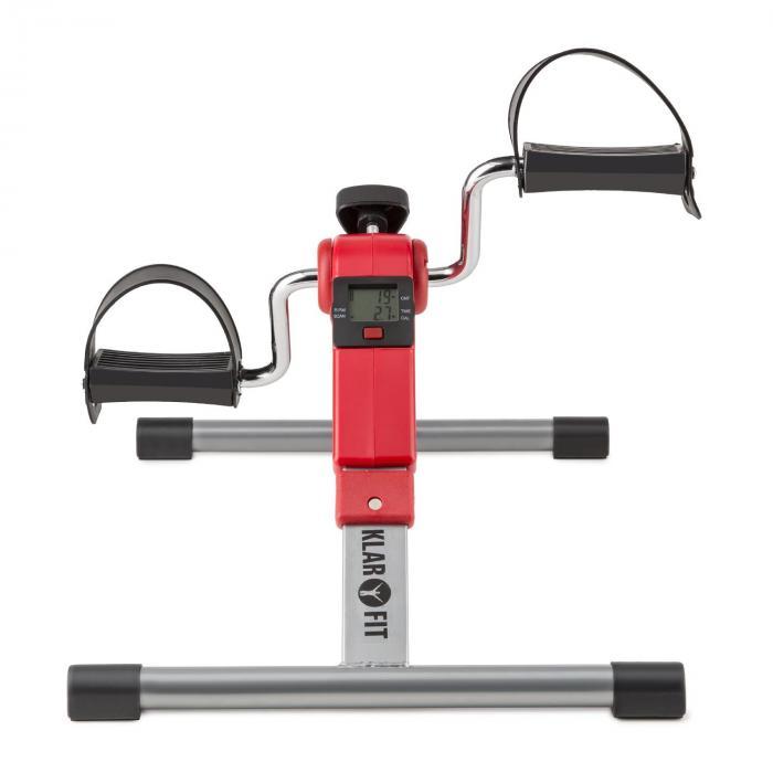 Spinmin Pro Mini Bike Arm- und Bein-Pedaltrainer Display faltbar rot