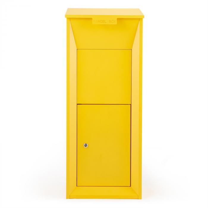 Postbutler postilaatikko pakettilaatikko keltainen