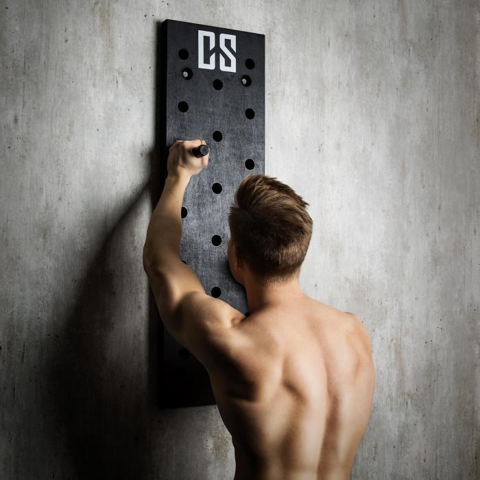 Pegstar Pegboard Tavola per Allenamento Trainingsboard 102x30x3,8 nero