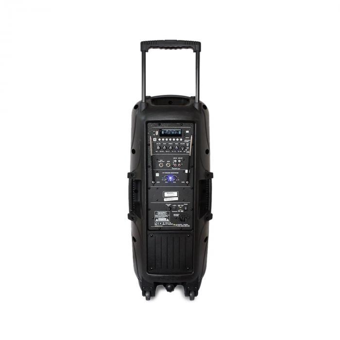 PORT225VHF-BT liikutettava PA-laitteisto bluetooth USB SD AUX MP3 VHF
