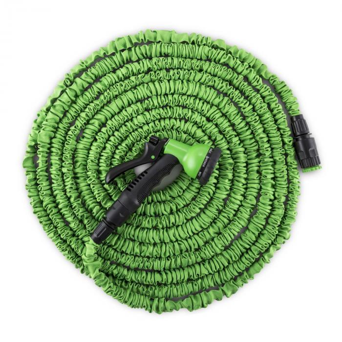 Water Wizard 15 Flexibele Tuinslang 8 Functies 15m groen