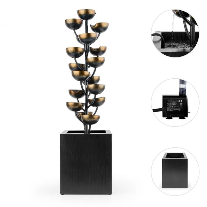 joshua tree gartenbrunnen springbrunnen wasserspiel pumpe 7w 10m kabel online kaufen. Black Bedroom Furniture Sets. Home Design Ideas