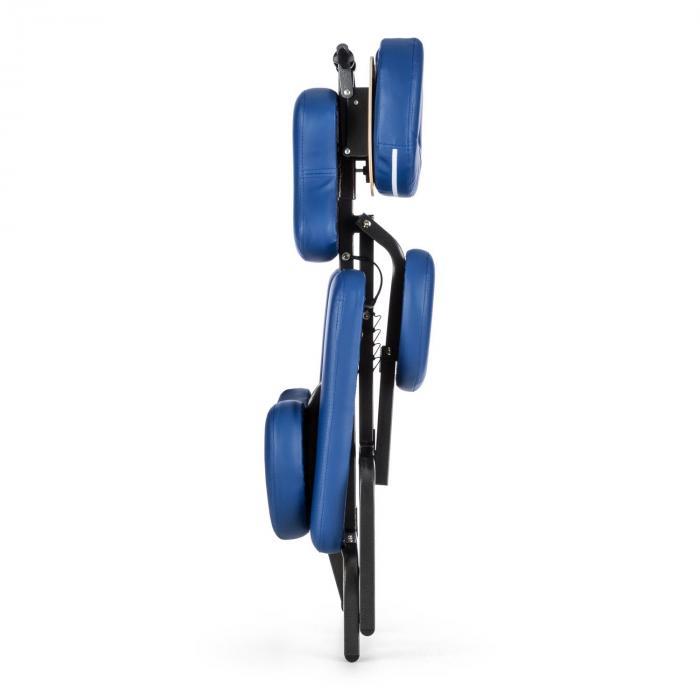MS 300 Sedia Massaggio 120kg Custodia Blu
