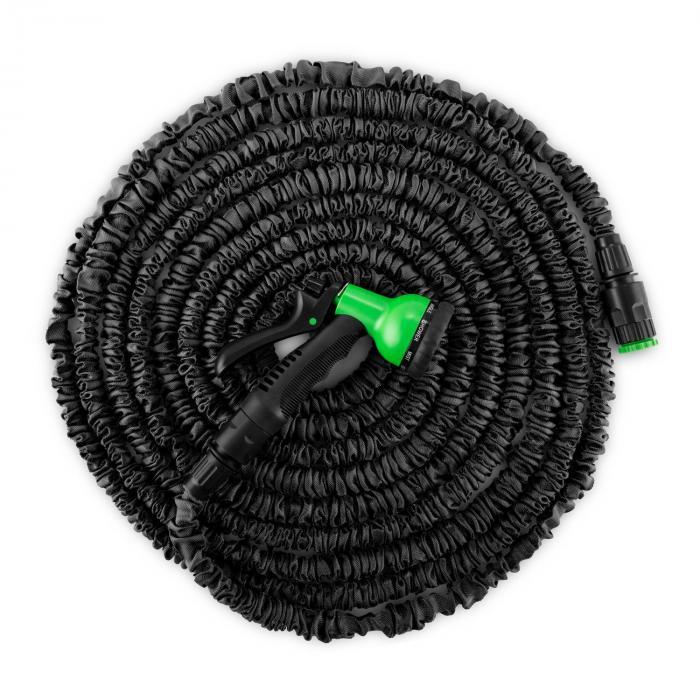 Water Wizard 15 Flexibele Tuinslang 8 Functies 15 m zwart