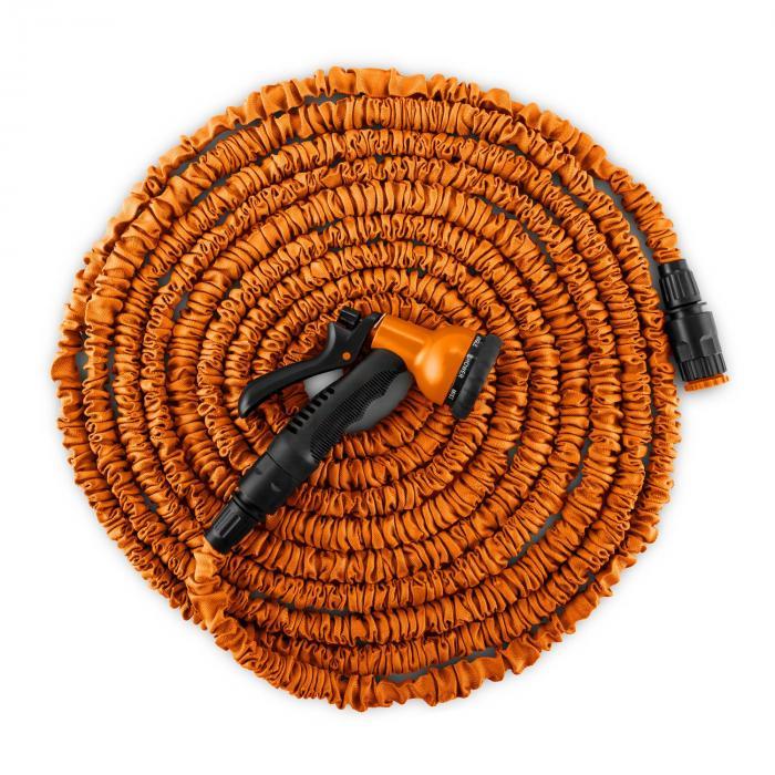 Water Wizard 30 Flexibele Tuinslang 8 Functies 30m oranje