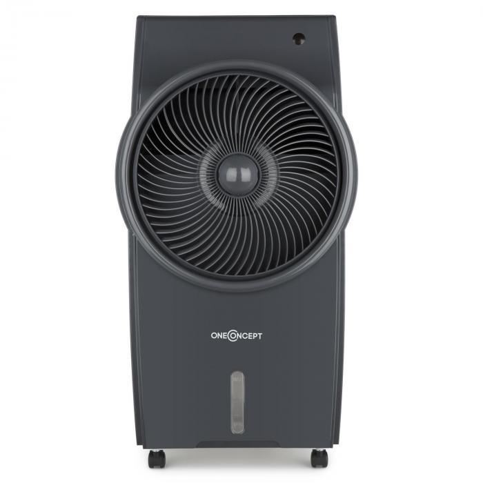 King Cool luchtkoeler airconditioning ventilator ionisator - grijs